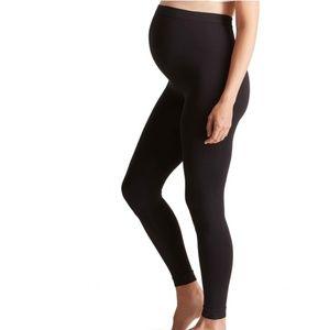 Full Length Black Maternity Leggings